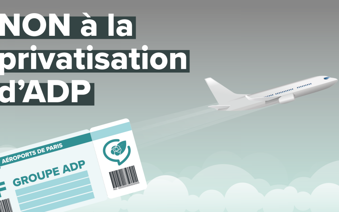 Rejet de la privatisation d'Aéroports de Paris par le Sénat : le combat du groupe Ensemble l'Ile-de-France continue!